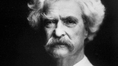 Unkempt: Mark Twain.