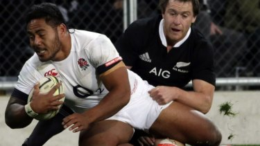 Banned: Manu Tuilagi will not be available for England selection until 2016.