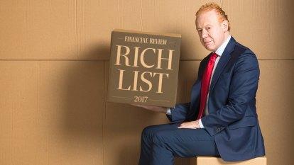 Financial Review Rich List 2017 top 20 worth $100 billion