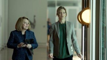 Jacki Weaver and Anna Torv in <i>Secret City</i>.