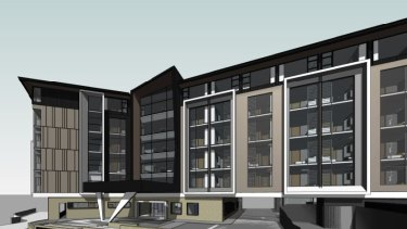 TriCare has proposed an aged-care facility at Ashgrove.