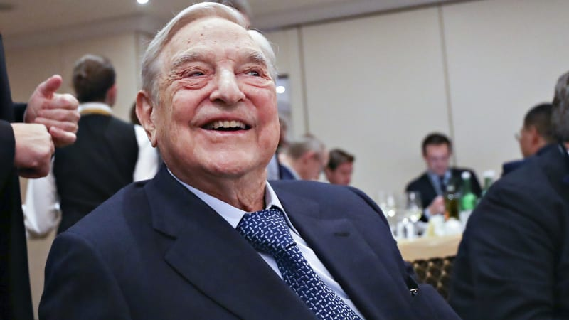 George Soros unleashes on Trump administration in Davos speech