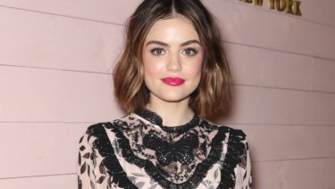 Lucy Hale is the goody-goody heroine Olivia in Truth or Dare.
