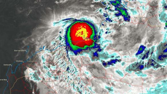 Tropical Cyclone Kelvin: Parts of Kimberley on red alert