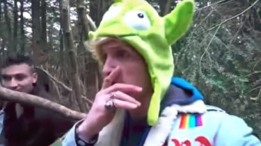 YouTube star Logan Paul filmed his reaction as he came across a body in Aokigahara, Japan's infamous suicide forest.