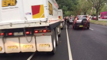 St Kilda Road will be down to a lane each way for 11 days in July.