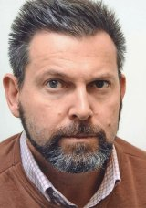 A police photograph of Gerard Baden-Clay taken during the investigation into his wife's death.