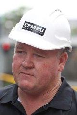 CFMEU spokesman Brian Parker.