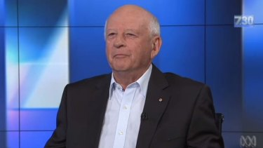 Woolworths managing director Roger Corbett appeared on 7.30 on Monday night to voice his opposition to same-sex marriage.