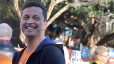 GetUP! national director Paul Oosting with GetUp! activists during this year's federal election.