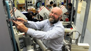 Professor David Hinde, director of the heavy ion accelerator facility at the Department of Nuclear Physics, ANU.