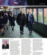 Cardinal Pell and St Patrick's College headmaster John Crowley in the April edition of the school magazine The Shamrock.