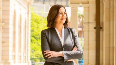 One of the first acts of the  Palaszczuk Government was to change the donation laws back.