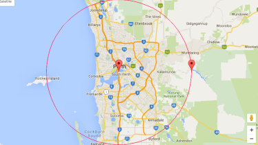 Do you live in Perth's 'squirrel' circle?
