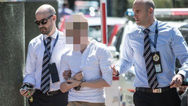 One of the Thorburns' sons is taken in by police.