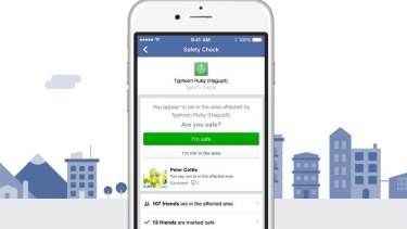 The Paris terror attacks marked the first time that Facebook's Safety Check feature was activated in response to a conflict situation.