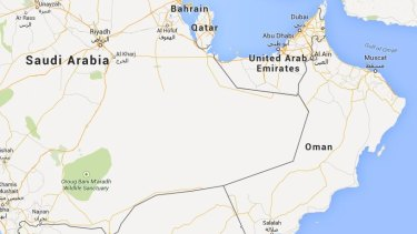 Oman is strategically placed in the Middle East.