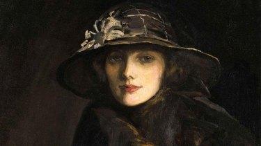 Lady Gwendoline Churchill by Sir John Lavery.