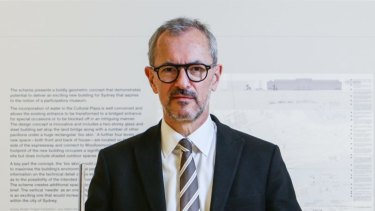 Art Gallery of NSW director Michael Brand said an enhanced capacity for revenue-generating private functions underpins the proposed Sydney Modern project.