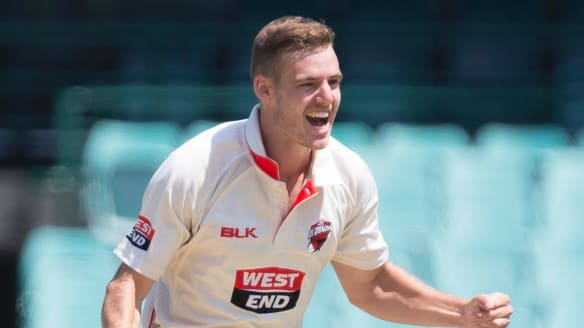 Canberra quick Nick Winter finishes second in Sheffield Shield player of the year