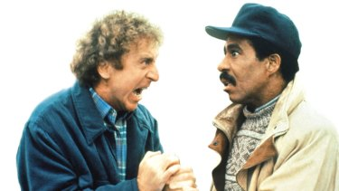 Gene Wilder collaborated with comedian Richard Pryor on many movies, including See No Evil, Hear No Evil.