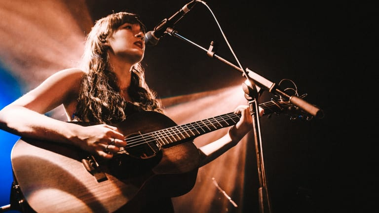 Gretta Ray performs at Oxford Art Factory on 23 August, 2018.