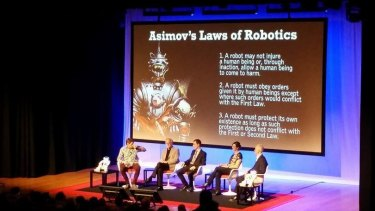 The Moral Math of Robots at the World Science Festival.