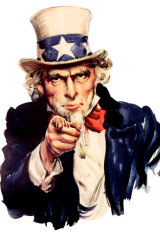 Uncle Sam wants you.