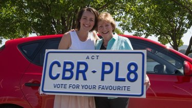 A competition is open for Canberra's new number plate slogan.
