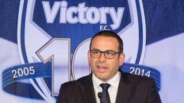 Victory chairman Anthony Di Pietro.