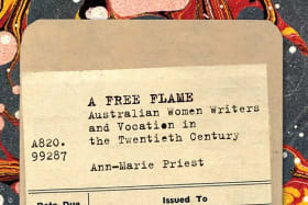 <i>A Free Flame</i>. By Ann-Marie Priest.