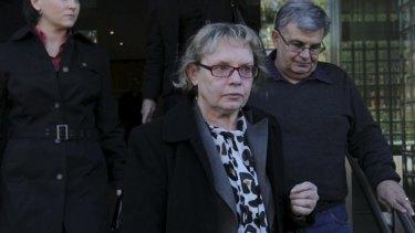 Still a mystery: Rozi Sajko leaves the coroner's court.
