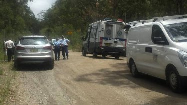 Police and forensic police examined Archery Road.