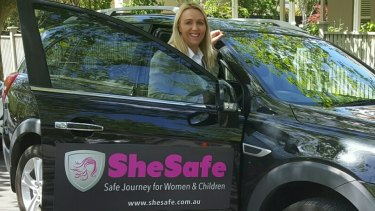Emma Buchanan started SheSafe after friends expressed concerns about travelling with male drivers.
