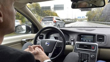 The driverless Volvo, a hands off approach to driving.