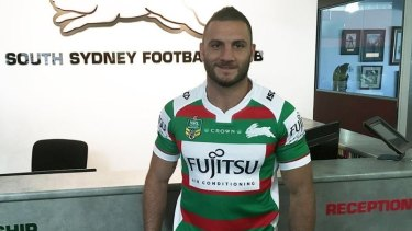 New lease of life: Robbie Farah at Souths.