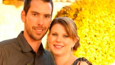 Andrea Lehane with her husband James Lehane