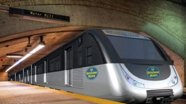 Cr Quirk said the proposed Brisbane metro would have a boarding time of between 8-15 seconds.
