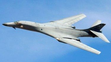 Bound for Australian skies? The US B-1 Bomber.