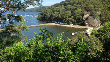 Parsley Bay on the Hawkesbury River.