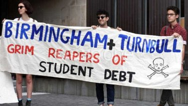 University students have been protesting against the prospect of increasing undergraduate fees but the high cost of post-graduate courses has gone unchecked and unscrutinised.