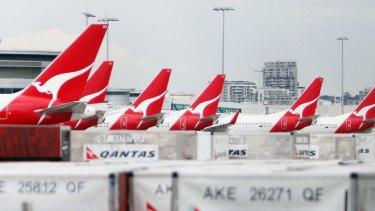 Qantas: A push for a major redundancy program will see as many as 300 pilots go.