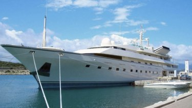 Adnan Khashoggi owned the 86-metre-long yacht, then the world's largest, called the Nabila. He sold it to Donald Trump, who renamed it the Trump Princess.