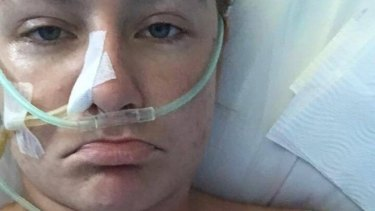 Jen Neilson has been in intensive care at a Balinese hospital for a week after suffering what is believed to be methanol poisoning.