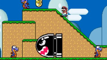 Everything was bigger and better on the Super Nintendo, including Mario's enemies.