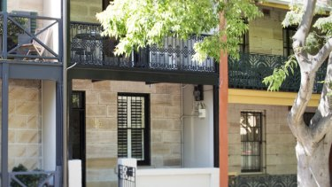 14 Collins Street, Surry Hills: One of the properties that was the subject of a court summons by NSW Fair Trading.
