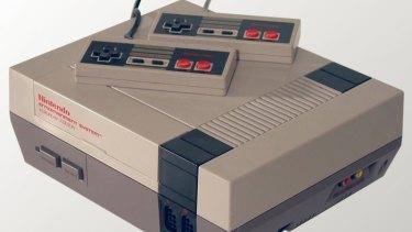 A Nintendo Entertainment System.