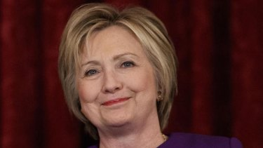 Hillary Clinton says she's 'ready to come out of the woods', encouraging communication across political divides.