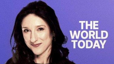Eleanor Hall of ABC Radio's The World Today.