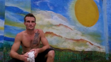 """""""You don't deal with it, you get on with it"""": Bali nine member Michael Czugaj, who is now in a jail in Madiun, East Java."""